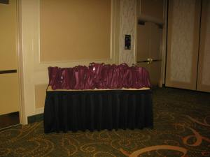Some of the 100 bags waiting for new homes.