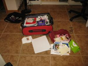 """Suitcase of """"junk."""""""
