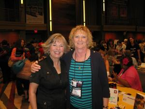 I met Deeanne Gist two years ago when my first book was released. Then we met again at the Barbara Vey Luncheon in April. Sweet lady.
