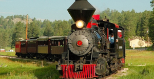 1880s Train Ride
